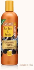 Creme of Nature Acai Berry & Keratin Strengthening Shampoo 355 ml