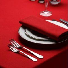 Rode Treb Horecalinnen SP, Napkin Servetten, 4 stuks, Rood, 50x50cm, Treb SP, Aanbevolen Stof