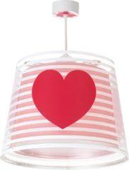 Star Bright Starbright Hanglamp Hartje Junior 65 X 24 Cm Wit//roze/rood