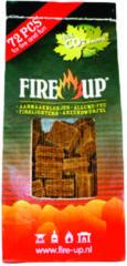 Fire-Up Aanmaakblok bruin 72 stuks Fire Up