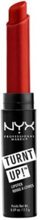 Afbeelding van Rode NYX Professional Makeup NYX Turnt Up Lipstick 20 Burlesque