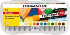 Oliepastelkrijt Eberhard Faber 11mm doos a 12 st assorti