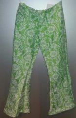 Geen personage Lange broek - groen - bloemen - maat 36