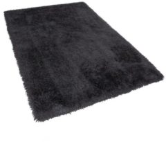 Zwarte Beliani Cide Vloerkleed Polyester 140 X 200 Cm