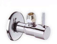 Zilveren Best-design Hoekstopkraan design 3/8 x 10 mm
