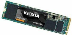 Kioxia EXCERIA NVMe 500 GB NVMe/PCIe M.2 SSD 2280 harde schijf M.2 NVMe PCIe 3.0 x4 Retail LRC10Z500GG8