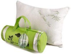Groene Origineel Bamboe Kussen   48 x 70 CM   Bamboo kussen voor ideale nachtrust   Aanbevolen