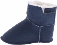 Blauwe Bergstein Teddy Slof Navy Baby-schoenen