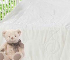 Witte Silkmood Kinder zijden dekbed (katoenen tijk) 100% zijde vulling, 100*135cm
