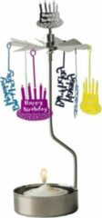 HAPPY BIRTHDAY ROTARY CANDLE - PLUTO PRODUKTER