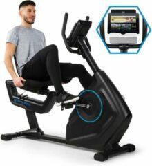 Zwarte Capital_sports Evo Track Cardio fiets bluetooth app 15kg vliegwiel