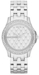 Zilveren Emporio Armani Armani Exchange Lady Hampton Dames Horloge AX5215