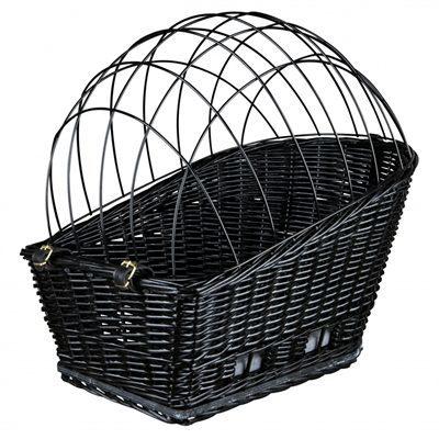Afbeelding van Trixie Fietsmand Voor Bagagedrager - Hondenfietsaccessoires - 35x49x55 cm Zwart
