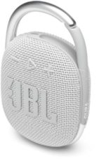 JBL Clip 4 Wit - Draagbare Bluetooth Mini Speaker