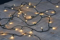 Anna's Collection Kerstverlichting buiten 120 lampjes warm wit