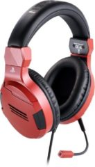 Bigben Official Licensed Playstation 4 Stereo Gaming Headset - PS4 - Rood