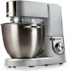 Zilveren Domo DO9079KR - Keukenmachine PRO - 6,7L - 1500W
