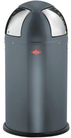 Afbeelding van Zilveren Wesco Afvalemmers Wesco Push Two Grafiet, 50 ltr (2x25 ltr)