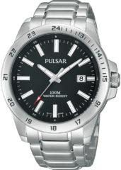 Zilveren Pulsar PS9221X1 - Horloge - 41 mm - Zilverkleurig