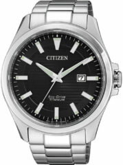 Citizen BM7470-84E Horloge Heren Ecodrive Super Titanium Zwart