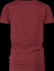 Vingino Essentials T-shirt met biologisch katoen donkerrood