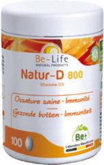 Be-Life Natur-D 800 100 Capsules