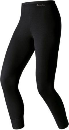Afbeelding van Zwarte Odlo Bl Bottom Long Active Warm Dames Sportonderbroek - Black - Maat XS