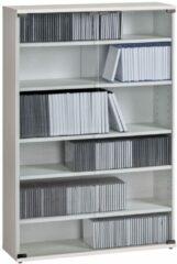 Bermeo CD DVD kast Maya L 110 cm hoog in wit