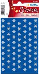 HERMA 4058 sticker Papier Zilver Permanent 201 stuk(s)
