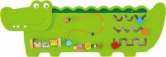 Groene Vigatoys Viga Toys - Wandspeelbord Krokodil