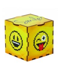 Wizardi Diamond Painting hout Smile Box