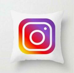 Paarse MFFL Kussenhoes met Social media Instagram logo (500005)