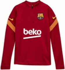 Rode Nike FC Barcelona Strike Drill Top Kids