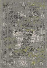 Impression Basic Collection Vintage Vloerkleed Claude 200x290 cm - Grijs / Groen