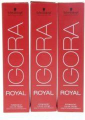 Schwarzkopf Professional Schwarzkopf - Igora - Royal - 9.5-4 Pastelblond Beige - 60 ml