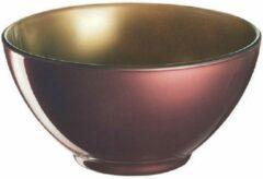 Luminarc Loft Abacco - Bowl -50cl - Goud-Paars - Glas - (set van 6) En Yourkitchen E-kookboek - Heerlijke Smulrecepten