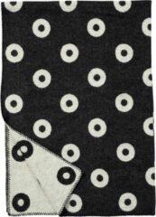 RINGS - Wollen deken- Zwart - Klippan 130x180