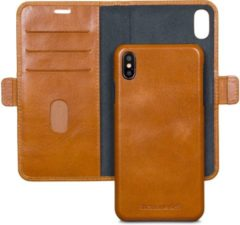 Bruine Dbramante1928 DBramante magnetic wallet case Lynge - tan - voor Apple iPhone Xs Max