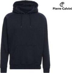 Marineblauwe Pierre Calvini Heren Hoodie NAVY XL