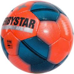 Oranje Derbystar Brillant Snow Voetbal Unisex - Maat 5