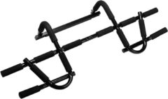 VirtuFit Multifunctionele Optrekstang - Pull Up Bar Deluxe - Zwart