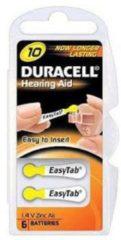 Duracell Hearing Aid DA10 1.4V niet-oplaadbare batterij
