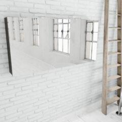 Zaro Beam donker eiken spiegelkast 150x70x16cm 3 deuren