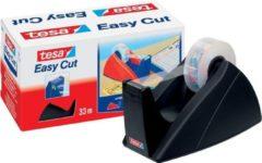 Tesa dispenser Easy Cut 33m zwart