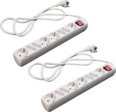 Sonstiges 2 Stück LEX SL-007 8-fach Steckerleisten mit Wippschalter und Kinderschutz