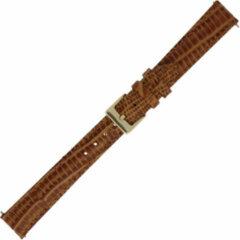 Morelatto Horlogebandje Snake Cognac 14mm