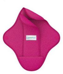 Ladypad Wasbaar maandverband pad & liner fuchsia maat L 1 Set
