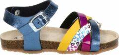 Nelson Kids meisjes sandaal - Blauw multi - Maat 31