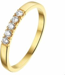 Goudkleurige SPARKLE14 The Jewelry Collection Ring Zirkonia - Goud
