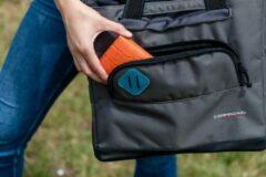 Campingaz - The Office Shopping Bag 16 - Koelbox maat 16 l, zwart/grijs/olijfgroen